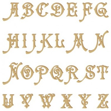 Wooden Alphabet 004 Carmencita