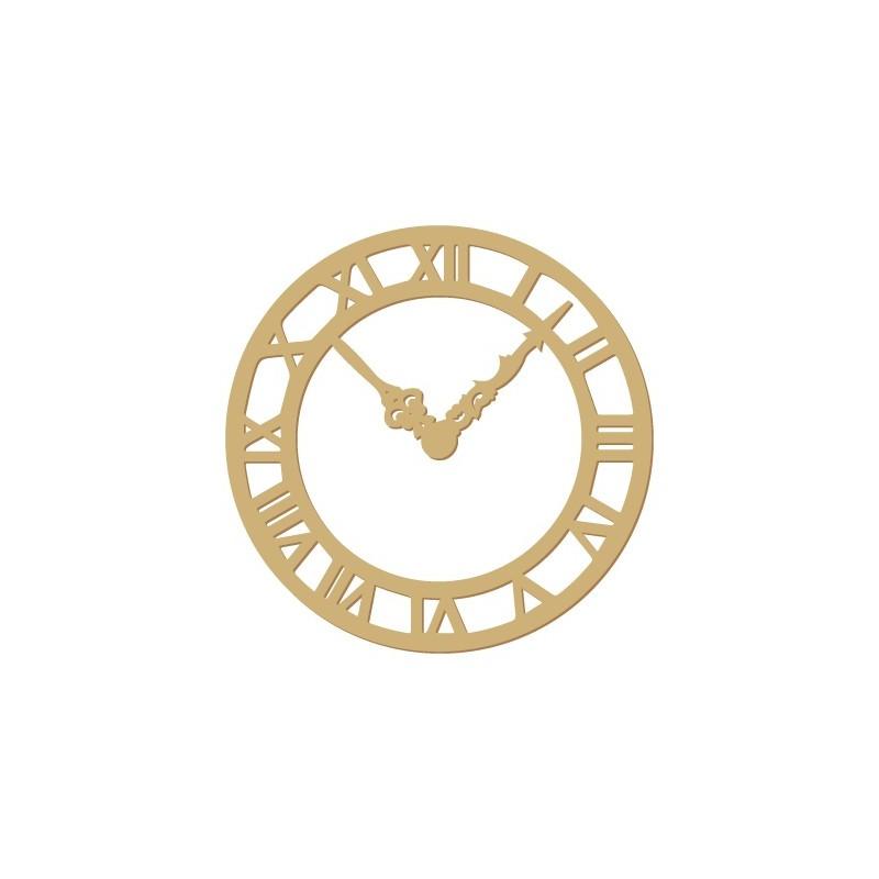 Wooden Silhouette 025 Clock