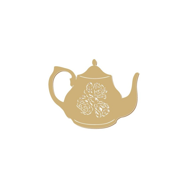 Wooden Silhouette 063 Teapot