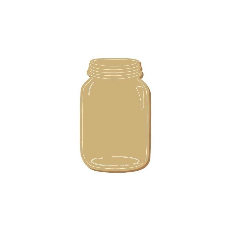 Wooden Silhouette 117 Jar