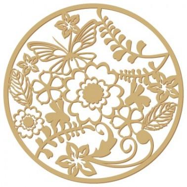 <h2>Silueta Floral 001 Roseton flores</h2><p>Fabricado en madera de chopo de 3mm de grosor</p><p>Medidas (ancho x alto):</p><ul><li>(S) 6,5 x 6,5 cm</li><li>(M) 9,75 x 9,8 cm</li><li>(L) 13 x 13 cm</li><li>(XL) 16,25 x 16,3 cm</li><li>(XXL) 19,5 x 19,5 cm</li></ul><p>Si lo quiere en otra medida o en DM envíenos un email</p>