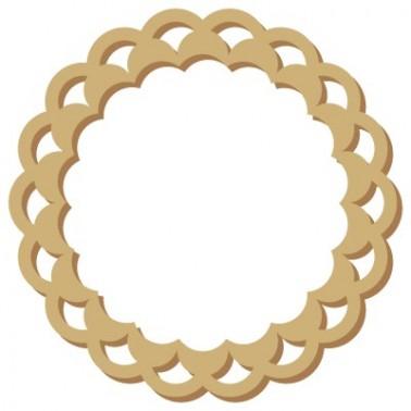 Wood Shape Frame 022 Draught