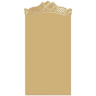 Wood Plaque Shape 025 Rococo