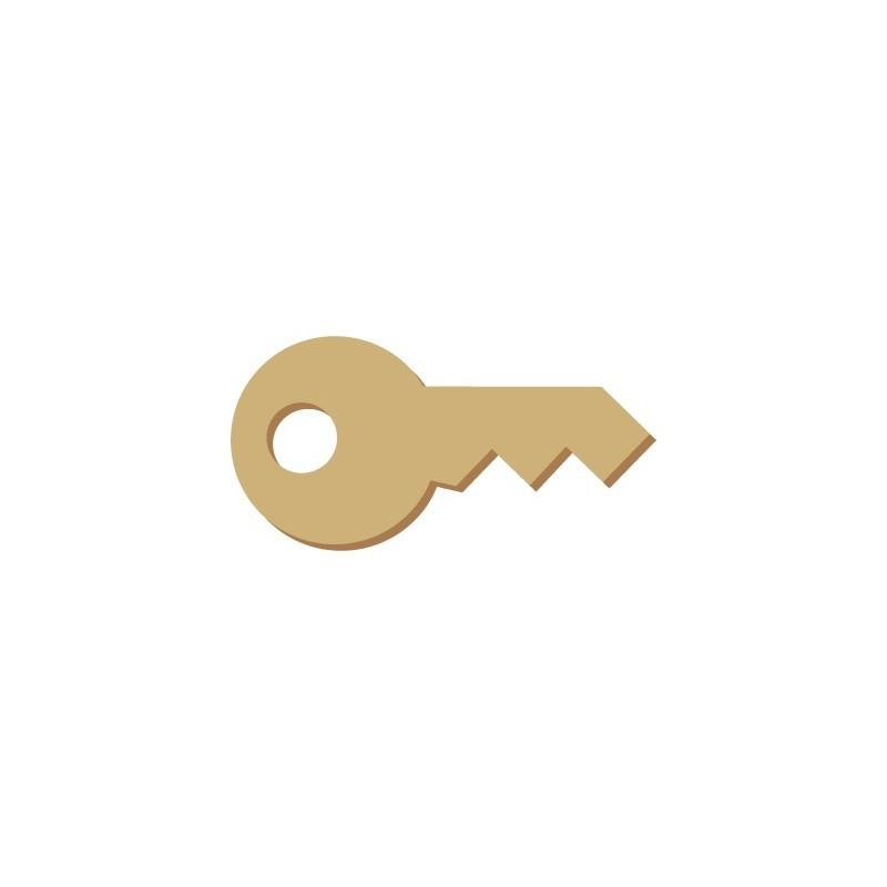 Wooden Mini Silhouette 013 Key