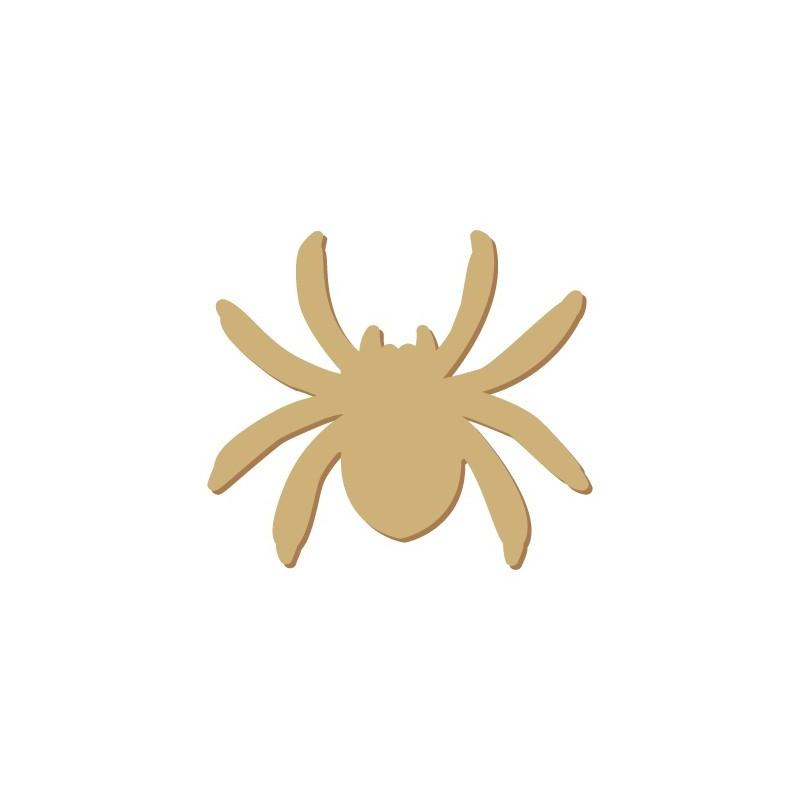 Wooden Mini Silhouette 056 Halloween Spider