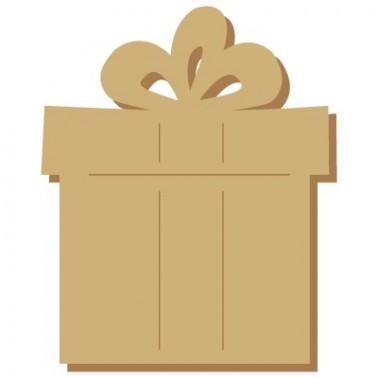 Wooden Mini Silhouette 062 Christmas Gift