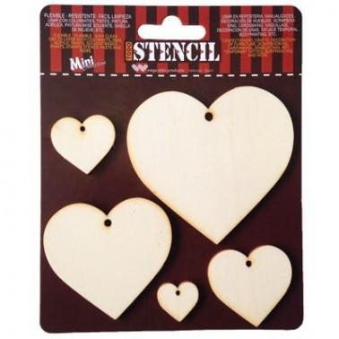 Cardboard Set 001 Hearts 5un