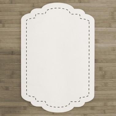 Wooden Plate 013 Backstitch