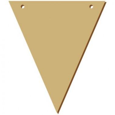 Soporte Madera 043 Banderola Triangular