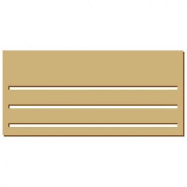 Wooden Plate 055 Dutch House Base
