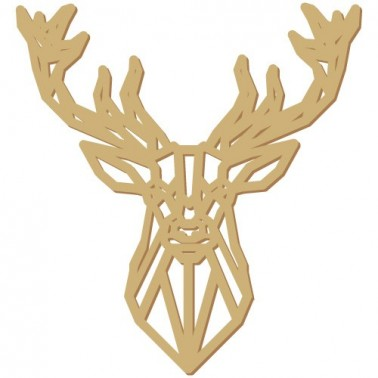 Wooden Silhouette 171 Deer