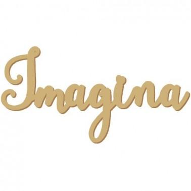 Silueta Texto 016 Imagina