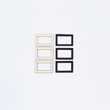 Wooden Silhouette Frame 032 Perpetual Calendar Set