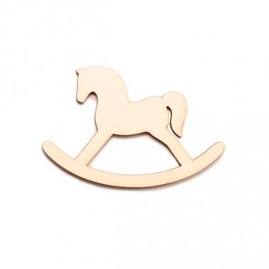 Wood Silhouette Figure 204 Horse Seesaw