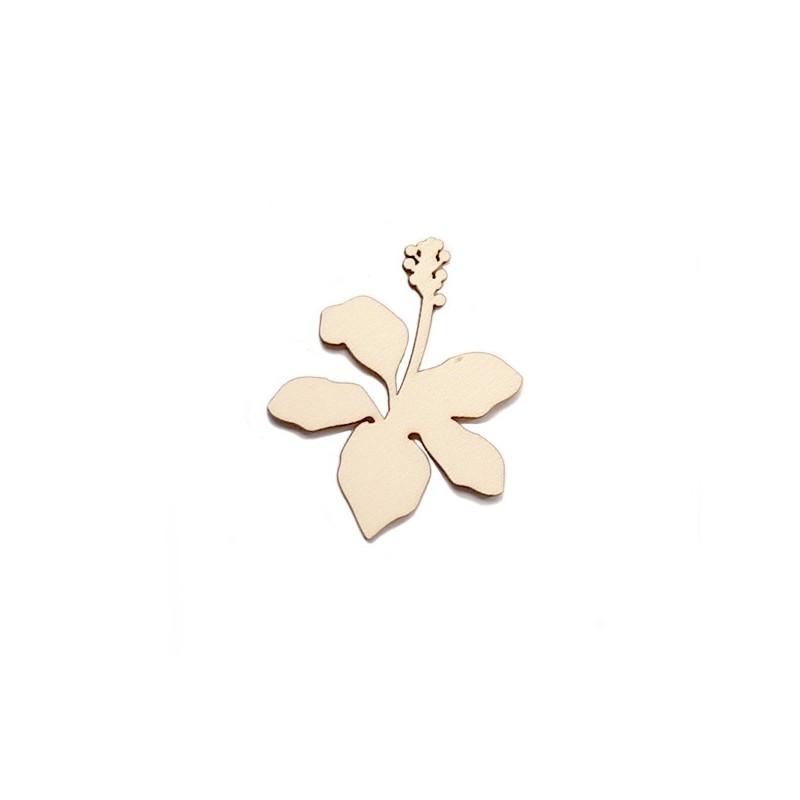 Silueta Figura 206 Flor Tropical