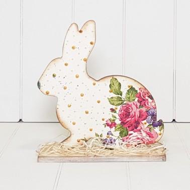 Soporte Madera 089 Conejo de Pascua