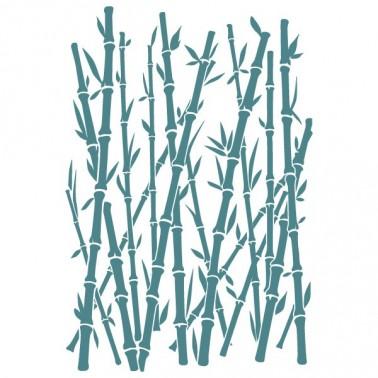 Rubber Stamp MYA 0094 Bamboo