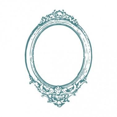 Sello Caucho Mya 0125 Espejo Ovalado