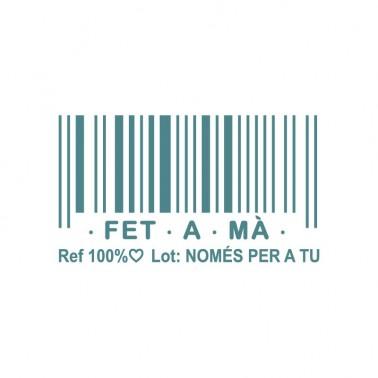 Rubber Stamp MYA 0037 Fet a Mà