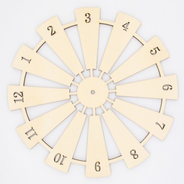 Soporte Madera 102 Reloj Country