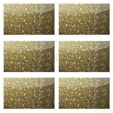 Glitter Micro Flake 4UP Gold