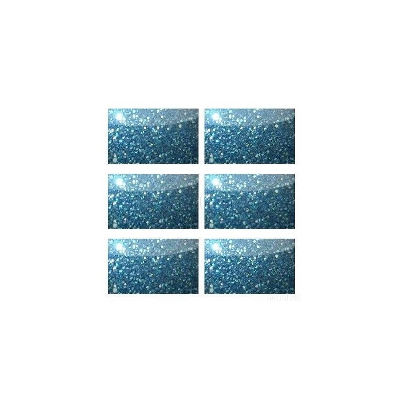 Glitter Polipur Flakes 25P Blue