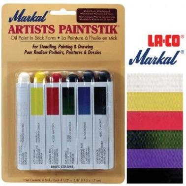 Markal Paintstiks 50ml Basic Set