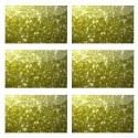 Glitter Polipur Flakes 4P Gold